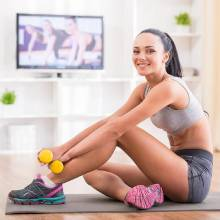 Sedinta de sport la domiciliu prin Clinica de nutritie Dietalia 2b
