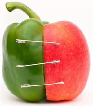 Cum sa asociem corect fructele si legumele