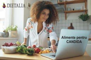 Alimente pentru candida, recomandate de medicii nutritionisti de la Clinica Dietalia
