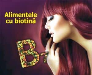 Alimentele cu biotina